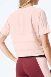 MPG Sport Cropped Mesh T Shirt - Front full body