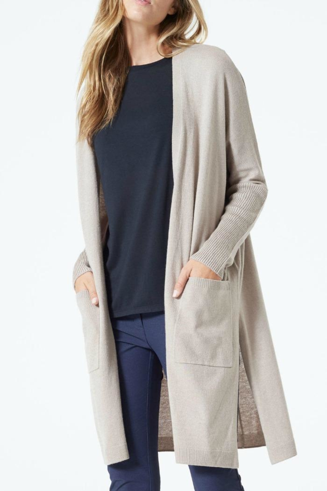 MPG Sport Crosby Long Cardigan - Main Image