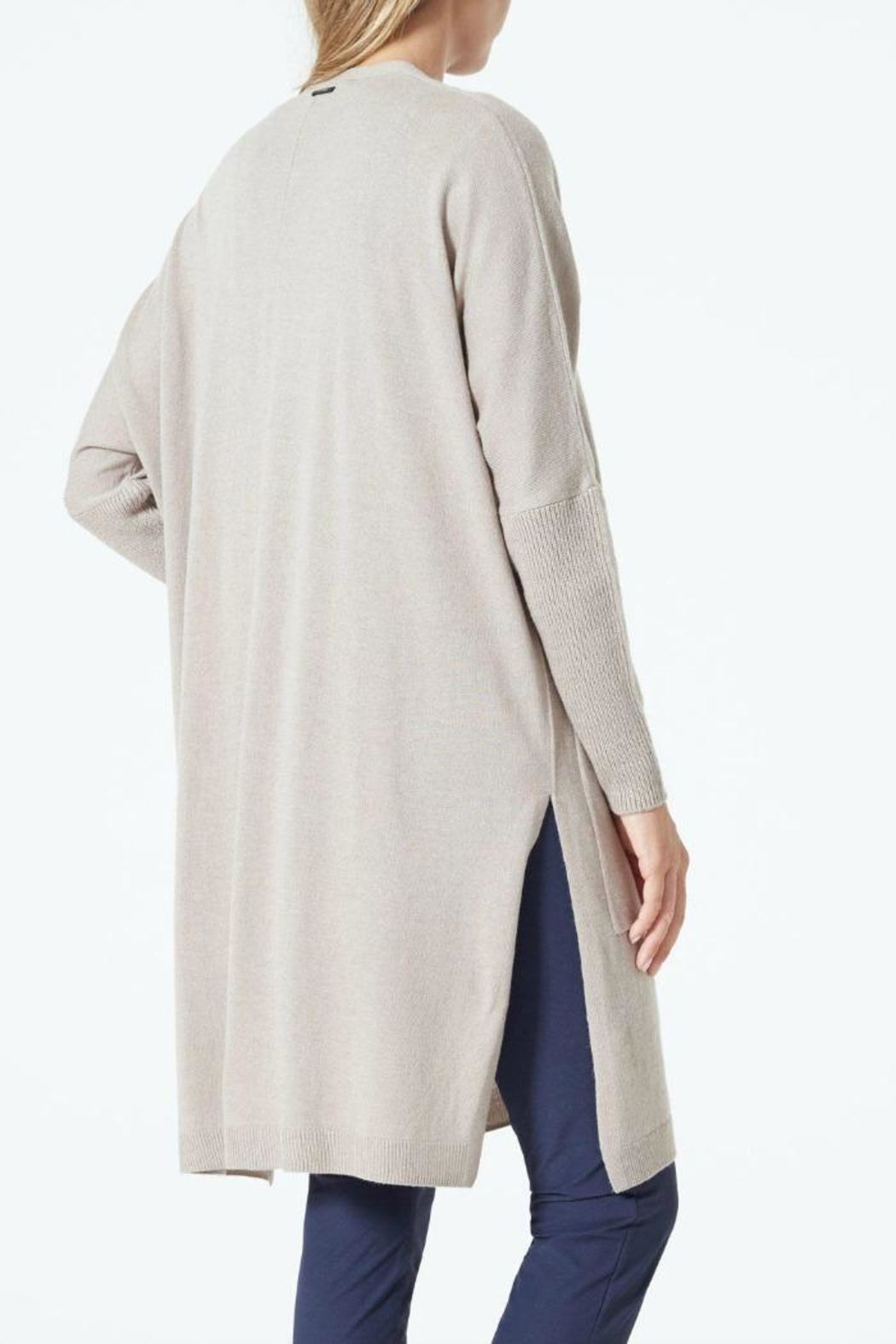 MPG Sport Crosby Long Cardigan - Front Full Image