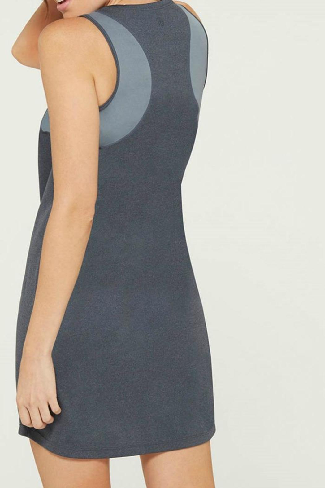 MPG Sport Grey Tank Dress - Front Full Image