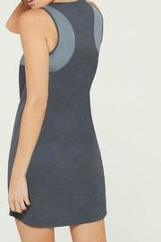 MPG Sport Grey Tank Dress - Front full body