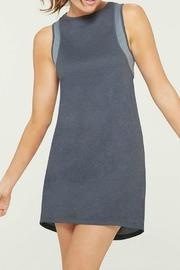 MPG Sport Grey Tank Dress - Front cropped