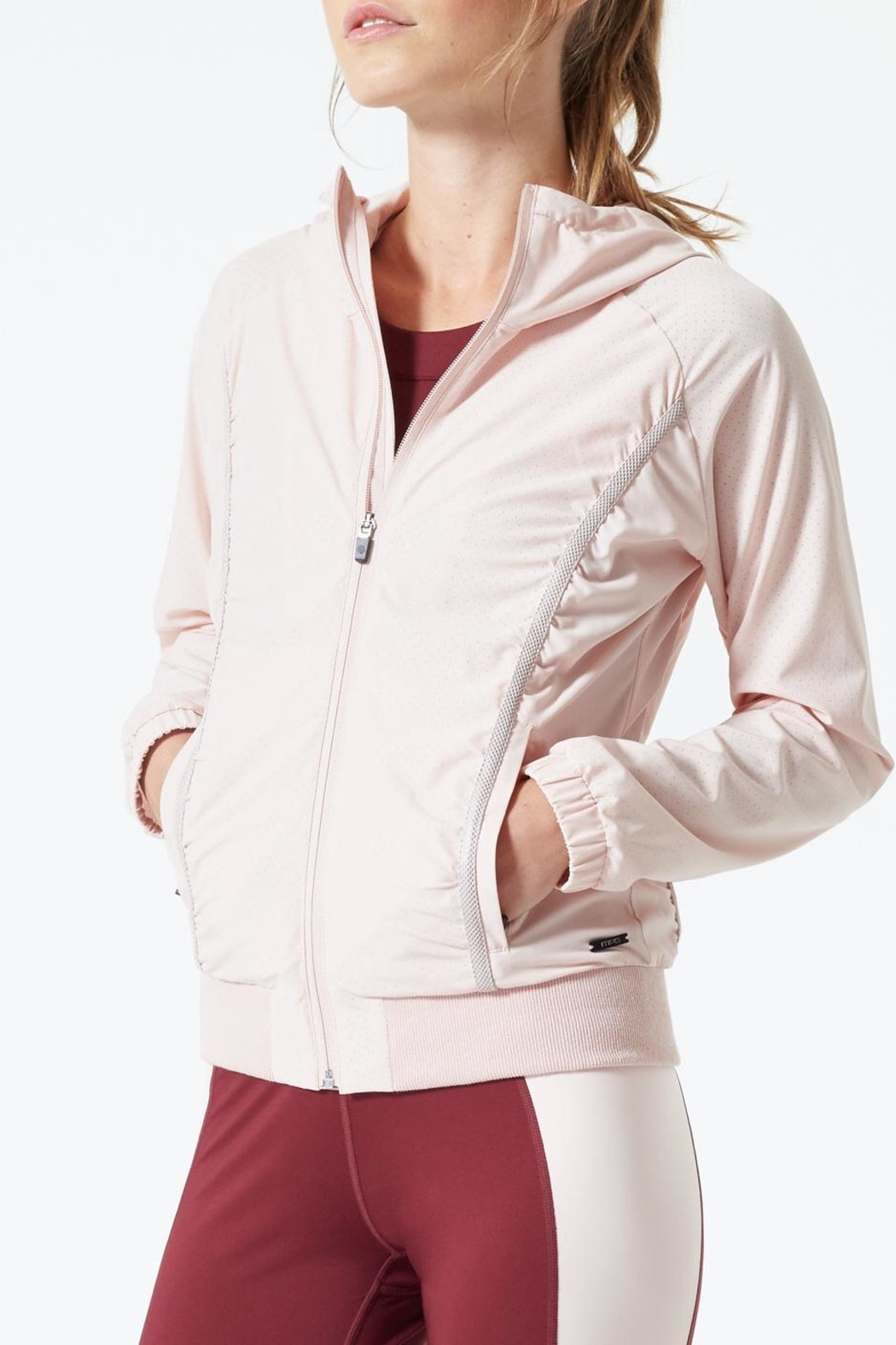 MPG Sport Running Jacket - Front Cropped Image