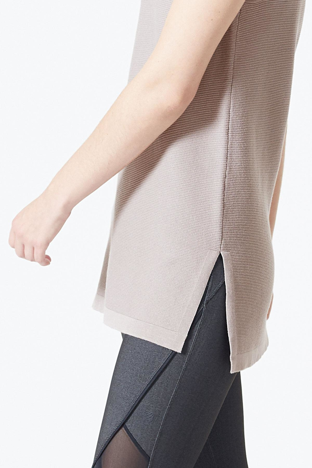 MPG Sport Sleeveless Tunic Top - Back Cropped Image