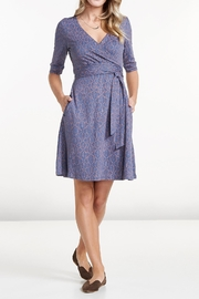 MPG Sport Wrap Dress - Front cropped