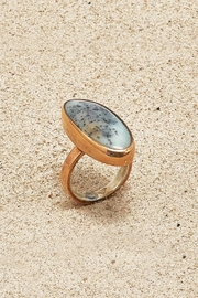 Mr. Blackbird Copper Agate Ring - Product Mini Image