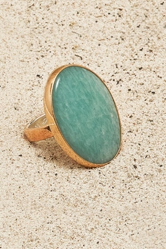 Mr. Blackbird Copper Amazonite Ring - Product List Image