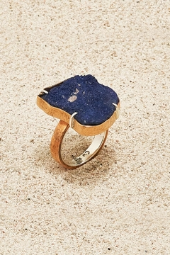 Shoptiques Product: Copper Azurite Ring