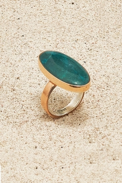 Shoptiques Product: Copper Chrysocolla Ring