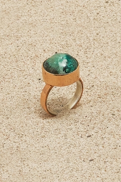 Mr. Blackbird Copper Chrysocolla Ring - Product List Image