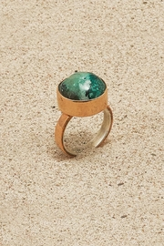 Mr. Blackbird Copper Chrysocolla Ring - Product Mini Image