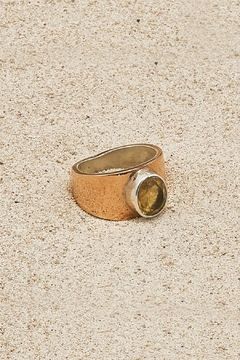 Mr. Blackbird Copper Citrine Ring - Product List Image