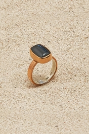 Mr. Blackbird Copper Hematite Ring - Product Mini Image