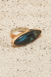 Mr. Blackbird Copper Labradorite Ring - Product Mini Image