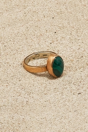 Mr. Blackbird Copper Malachite Ring - Product Mini Image
