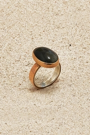 Mr. Blackbird Copper Obsidian Ring - Product Mini Image