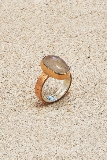 Mr. Blackbird Copper Quartz Ring - Main Image