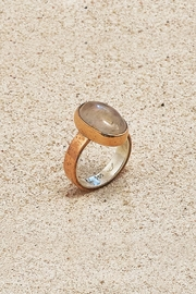 Mr. Blackbird Copper Quartz Ring - Front cropped