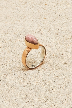 Shoptiques Product: Copper Rhodochrosite Ring