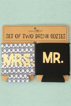 Natural Life Mr & Mrs Cozies - Alternate List Image