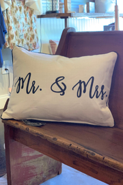 Little Birdie Mr. & Mrs. Pillow - Product Mini Image