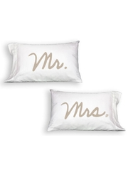 Faceplant Mr. & Mrs. Pillowcases - Product Mini Image