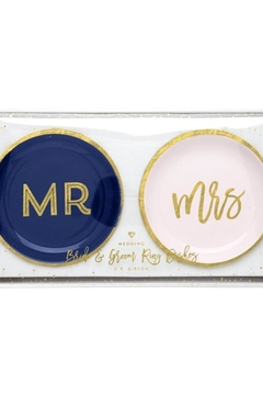 C.R. Gibson Mr-&-Mrs Trinket Set - Alternate List Image