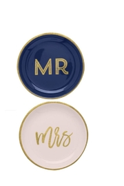 C.R. Gibson Mr-&-Mrs Trinket Set - Product Mini Image