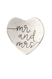 Mud Pie Mr-&-Mrs Trinket Tray - Product Mini Image
