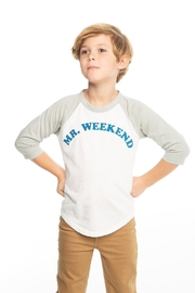 Chaser Mr. Weekend baseball tee - Front cropped