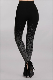Mrena Jacquard Sweater Legging - Front full body
