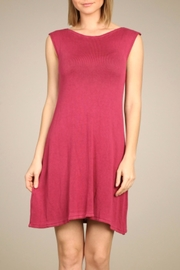 Mrena Magenta Knit Tunic/dress - Product Mini Image
