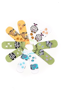 Shoptiques Product: Bamboo Grip-Sock Pack