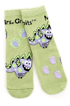 Shoptiques Product: Bamboo Grip-Socks Monster