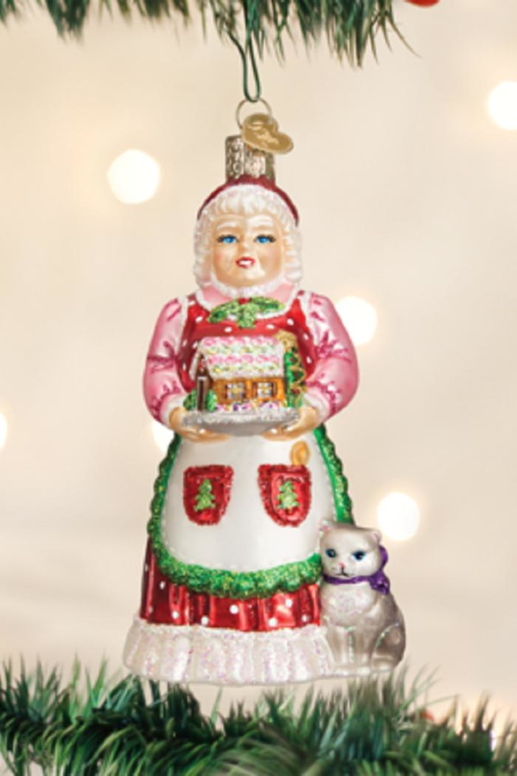Old World Christmas Mrs Claus Ornament - Main Image