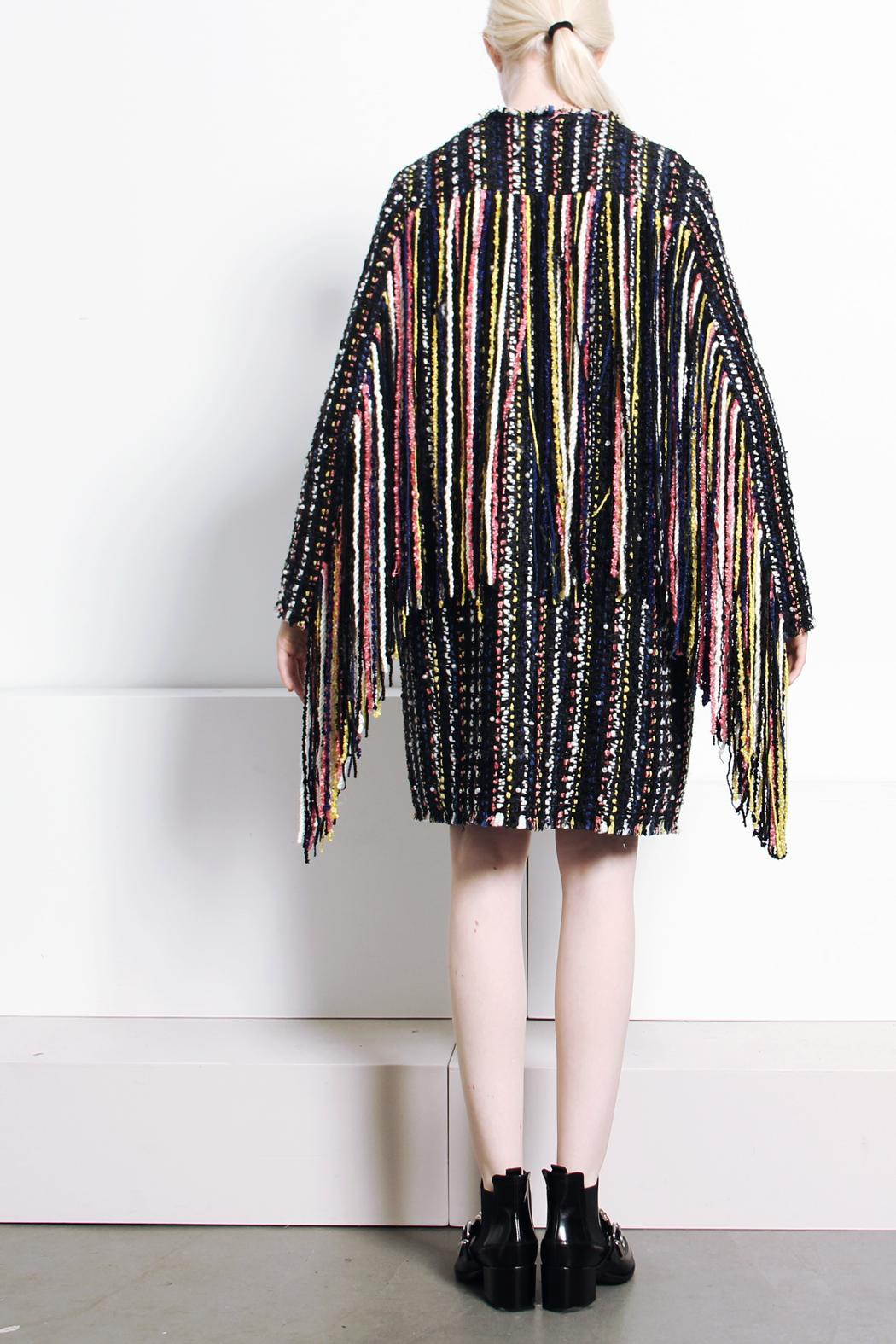 MSGM fringed tweed jacket Buy Cheap Lowest Price Fake For Sale Buy Cheap Order 9IeU1iS2