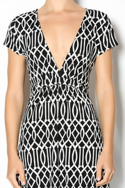 MT Collection Geometric Print Dress - Other