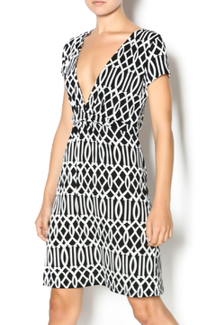MT Collection Geometric Print Dress - Product List Image