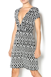 MT Collection Geometric Print Dress - Product Mini Image