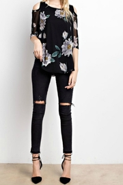 MTS Floral Mesh Top - Other