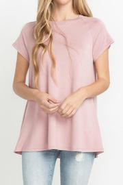 MTS Pink French Terry Shirt - Product Mini Image