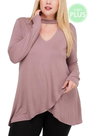MTS Mock Neck Top - Product Mini Image