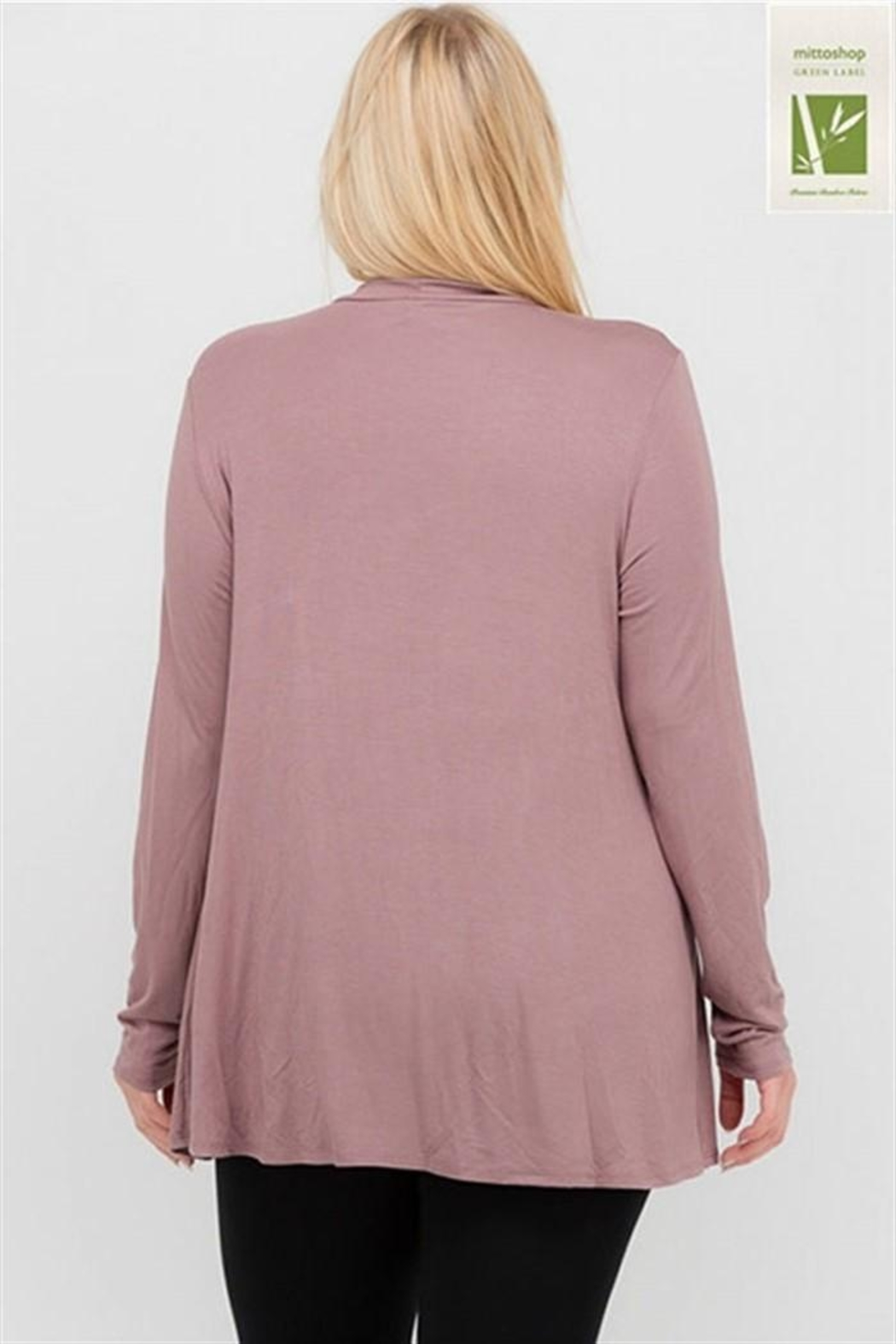 MTS Mock Neck Top - Front Full Image