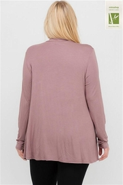 MTS Mock Neck Top - Front full body