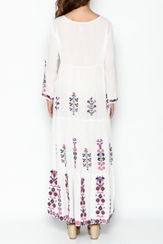 Muche et Muchette Embroidered Long Dress - Back cropped