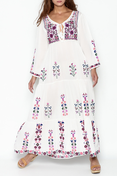 Shoptiques Product: Embroidered Long Dress