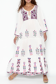 Muche et Muchette Embroidered Long Dress - Product Mini Image