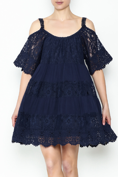 Muche et Muchette Lace Off Shoulder Dress - Product List Image