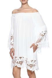 Muche et Muchette White Flower Dress - Product Mini Image