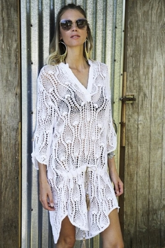 Shoptiques Product: Chloe Crochet Cover-Up